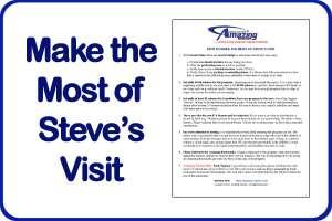 Make the Most of Steve's Visit